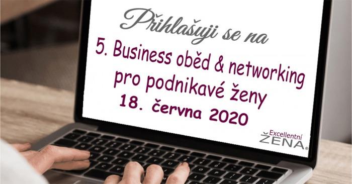 18.06.2020 - 5. Business oběd pro podnikavé ženy - Plzeň