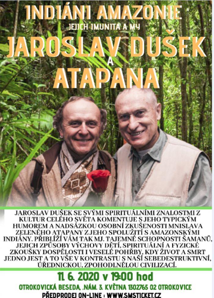 11.06.2020 - Beseda s Jaroslavem Duškem a Atapanou - Otrokovice