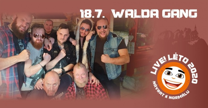 18.07.2020 - Live!Léto 2020 - WALDA GANG / Malá Skála