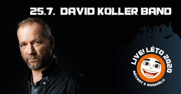 25.07.2020 - Live!Léto 2020 - David Koller / Malá Skála