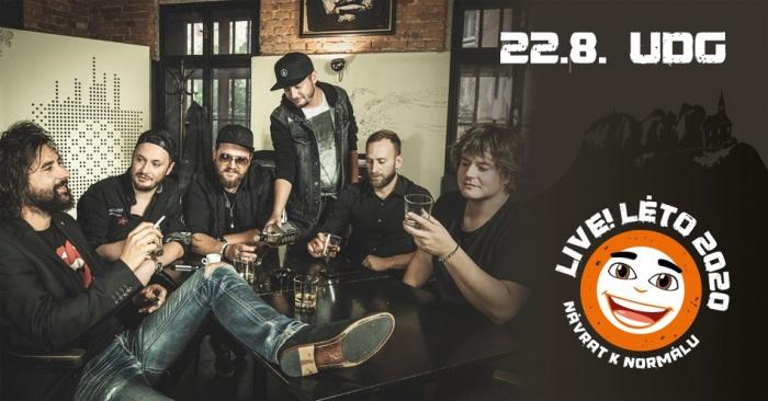 Live!Léto 2020 - UDG / Malá Skála