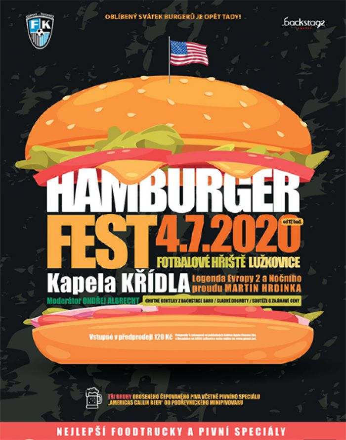 04.07.2020 - HamBurger Fest Lužkovice