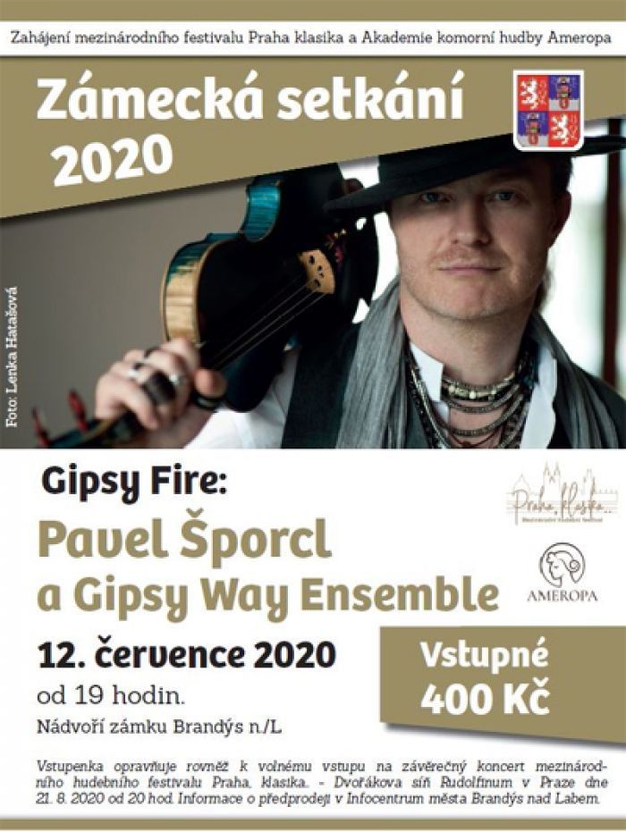 12.07.2020 - Pavel Šporcl a Gipsy Way Ensemble - Koncert / Brandýs nad Labem