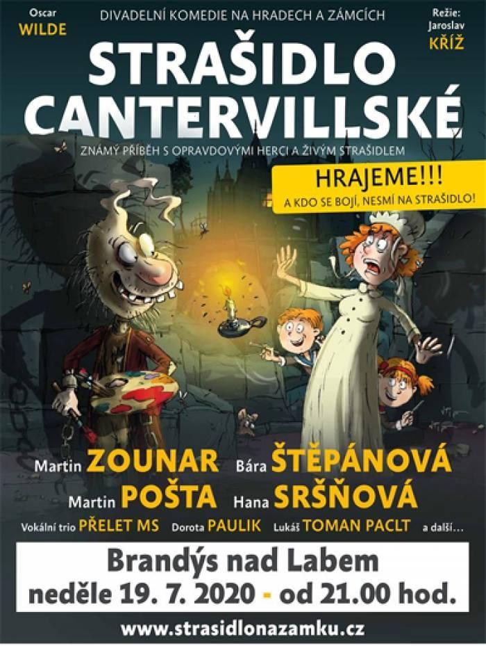 19.07.2020 - Strašidlo cantervillské - Divadlo / Brandýs nad Labem