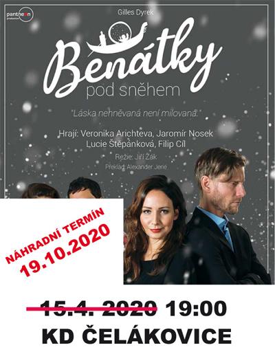 19.10.2020 - BENÁTKY POD SNĚHEM - Divadlo /  Čelákovice