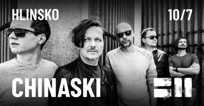10.07.2020 - Chinaski - Koncert / Hlinsko