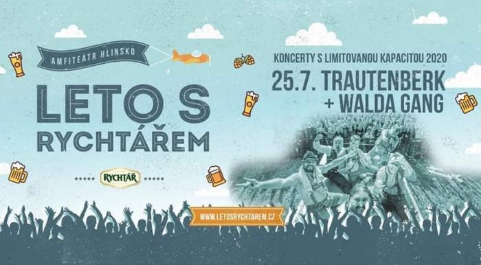 25.07.2020 - Trautenberk a Walda Gang - Koncert / Hlinsko