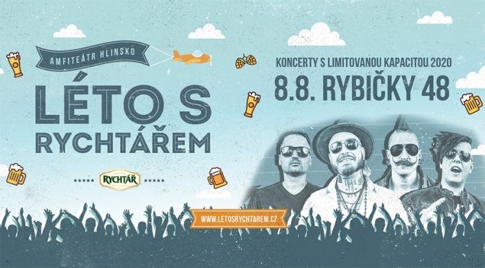08.08.2020 - Rybičky 48 - Koncert / Hlinsko
