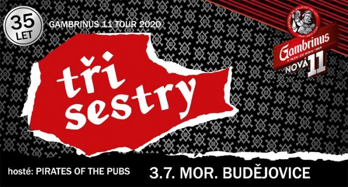 03.07.2020 - Tři Sestry - Gambrinus 11 tour / Moravské Budějovice