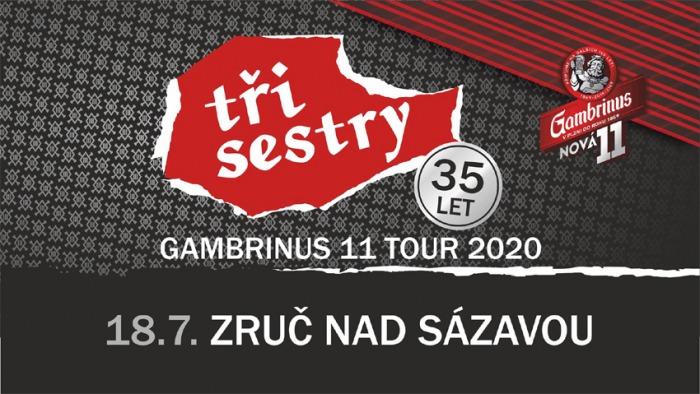 Tři Sestry - Gambrinus 11 tour / Zruč nad Sázavou