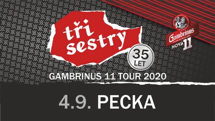 04.09.2020 - Tři Sestry - Gambrinus 11 tour / Pecka