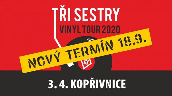 18.09.2020 - Tři sestry VINYL TOUR 2020 - Kopřivnice