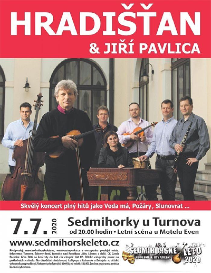 07.07.2020 - Sedmihorské léto 2020 - Hradišťan & Jiří Pavlica   / Semily