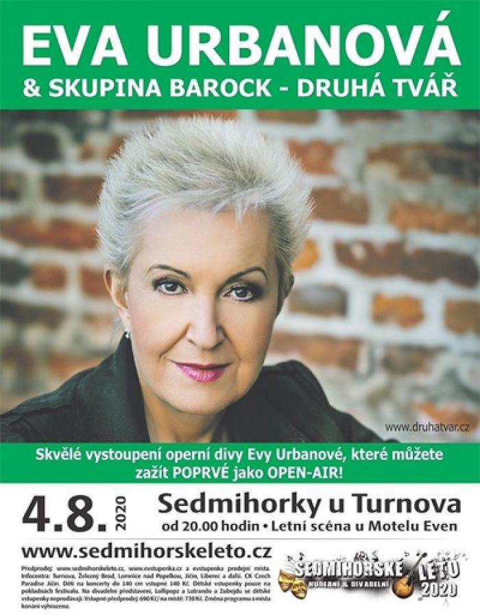 04.08.2020 - Sedmihorské léto 2020 - Eva Urbanová a skupina Barock / Semily