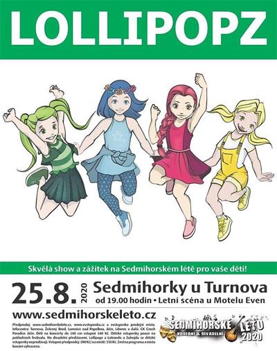 Sedmihorské léto 2020 - Lollipopz / Semily