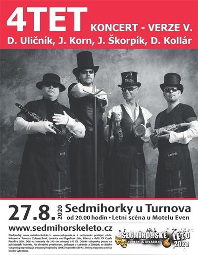 Sedmihorské léto 2020 - 4TET / Semily