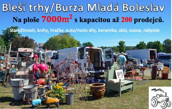 18.07.2020 - Bleší trhy / Burza - Mladá Boleslav