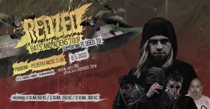 09.10.2020 - Redzed : Bats and Aliens Tour - Příbram