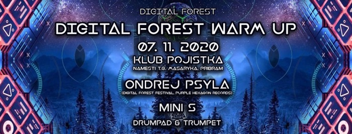 Digital forest warm up - Příbram