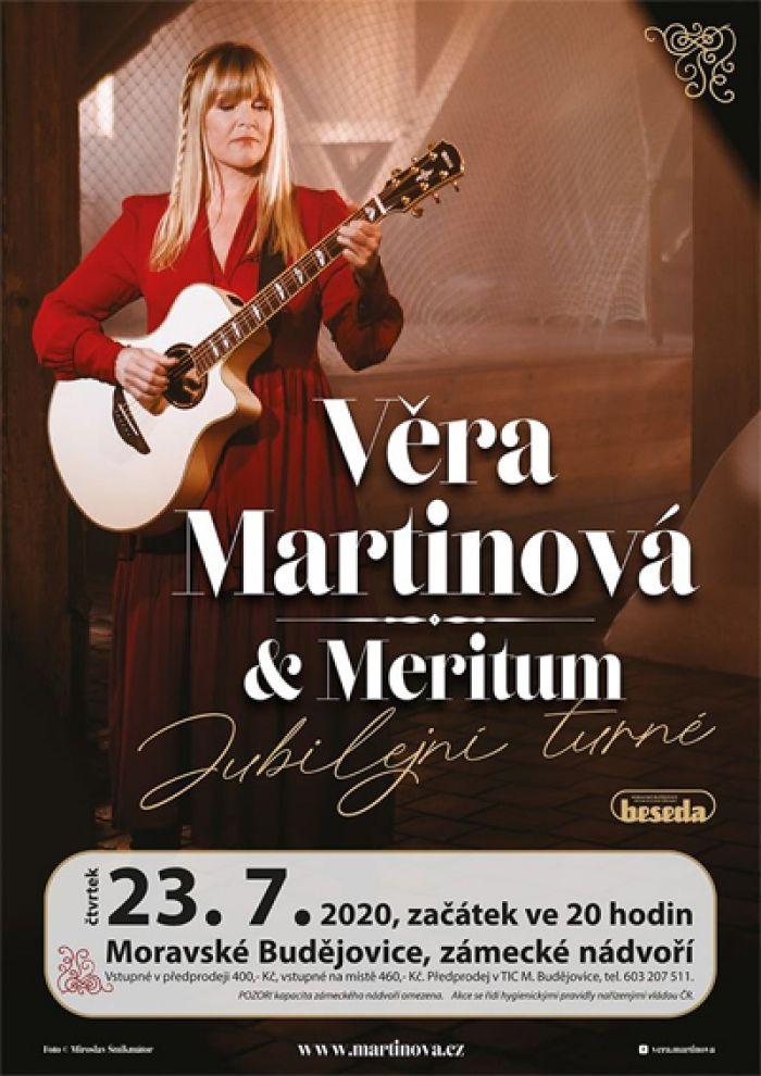 23.07.2020 - Věra Martinová a Meritum - Koncert / Moravské Budějovice