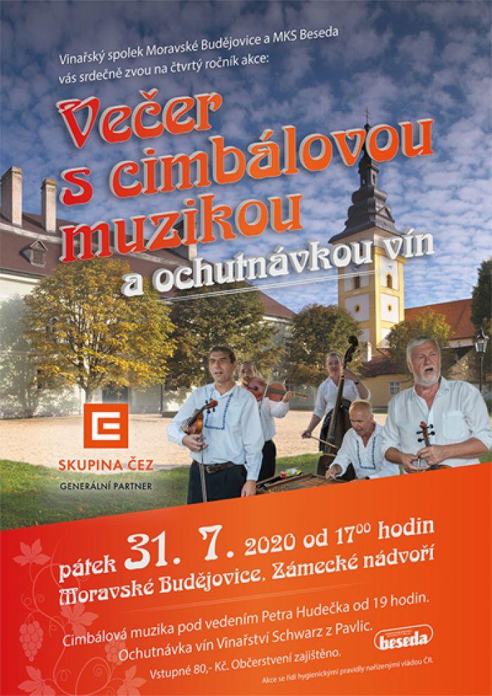 31.07.2020 - Letní ochutnávka vín / Moravské Budějovice