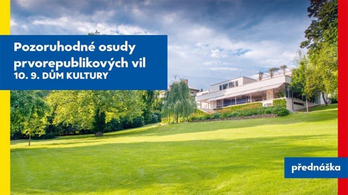 10.09.2020 - Pozoruhodné osudy prvorepublikových vil - Přednáška / Ústí nad Labem