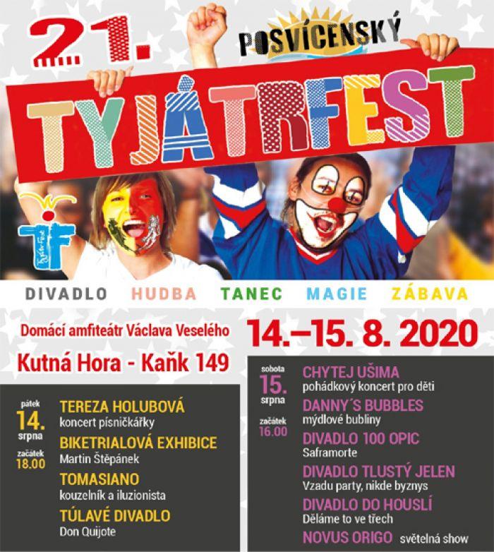 14.08.2020 - 21. TYJÁTRFEST - Kutná Hora