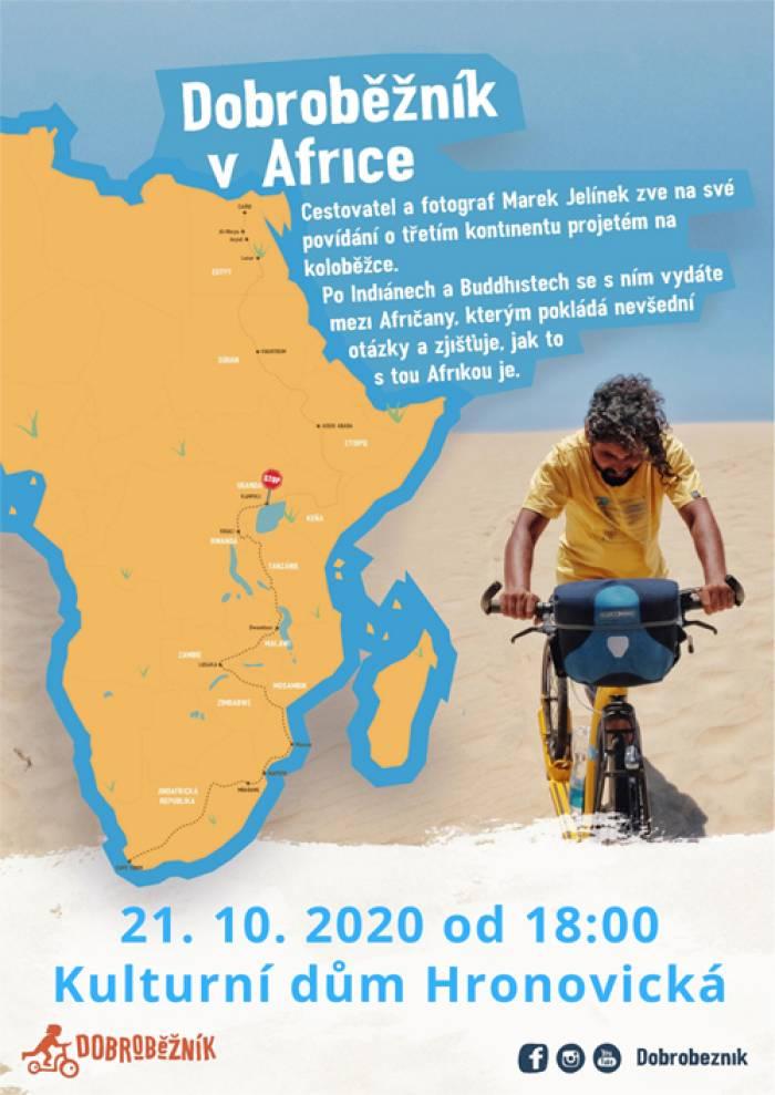 07.10.2020 - Dobroběžník v Africe - Přednáška / Pardubice