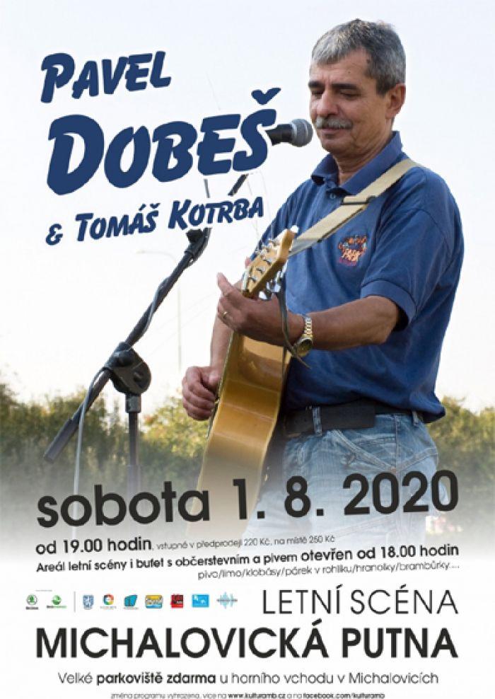 01.08.2020 - PAVEL DOBEŠ A TOMÁŠ KOTRBA - Koncert / Mladá Boleslav