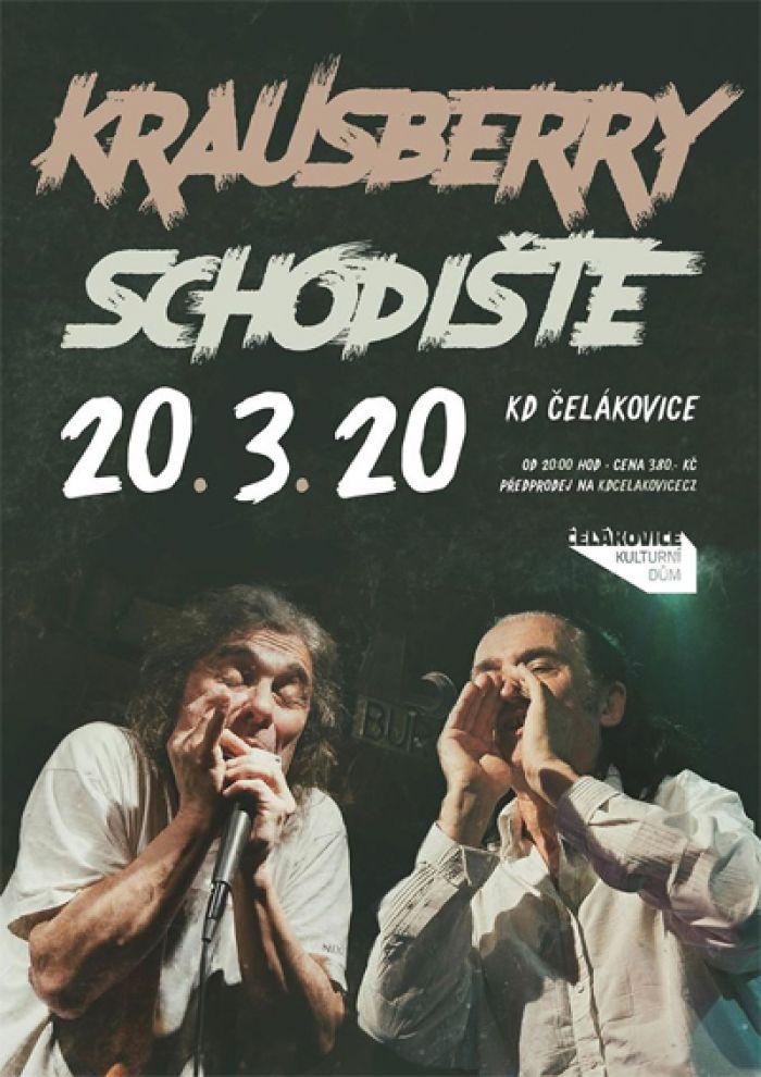 06.11.2020 - Krausberry a Schodiště - Koncert /  Čelákovice