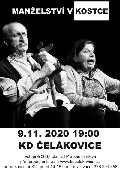 09.11.2020 - Manželství v kostce - Divadlo /  Čelákovice