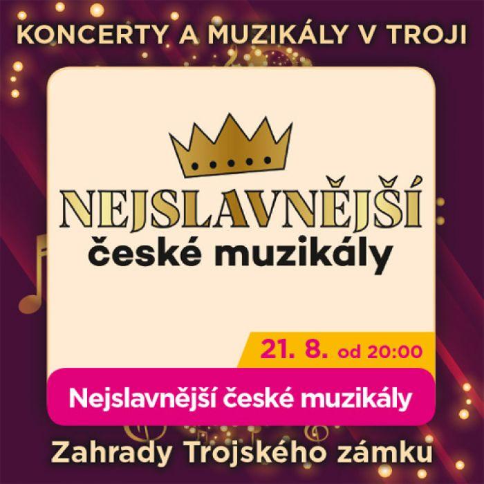 21.08.2020 - Nejslavnější české muzikály Karla Svobody a Michala Davida / Praha