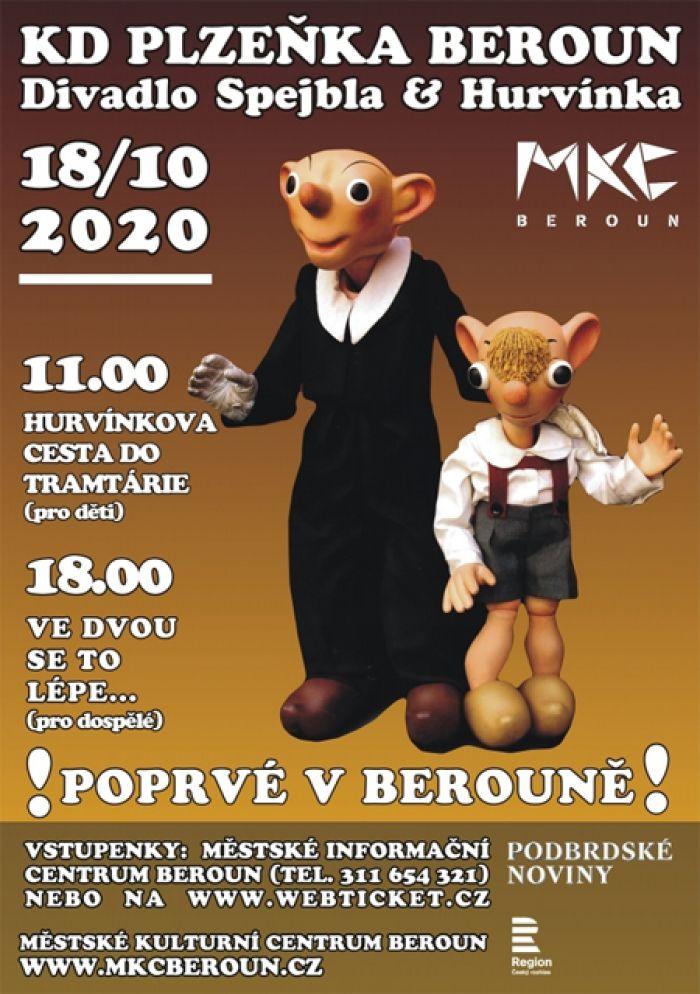 18.10.2020 - Spejbl & Hurvínek: Ve dvou se to lépe... / Beroun