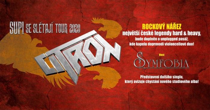 06.11.2020 - Citron - Supi se slétají tour 2020 / Třebíč