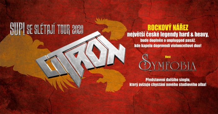 10.10.2020 - Citron - Supi se slétají tour 2020 / Zlín
