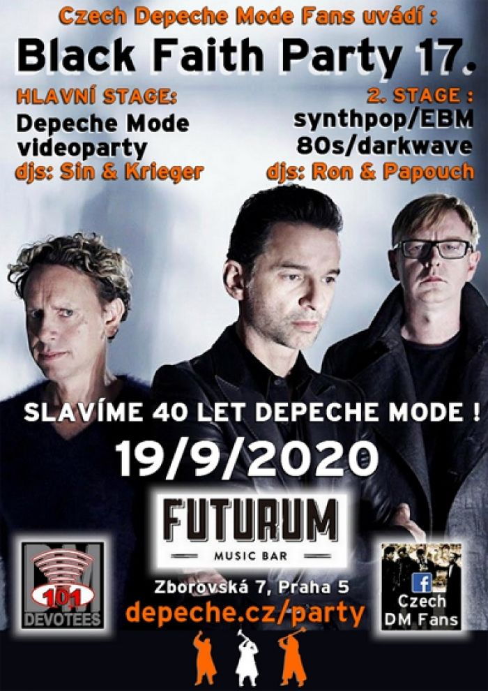 19.09.2020 - Depeche Mode videoparty - Praha