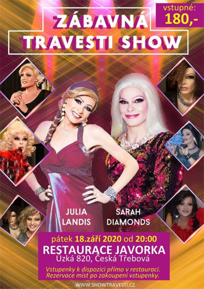 18.09.2020 - Travesti Show - Česká Třebová