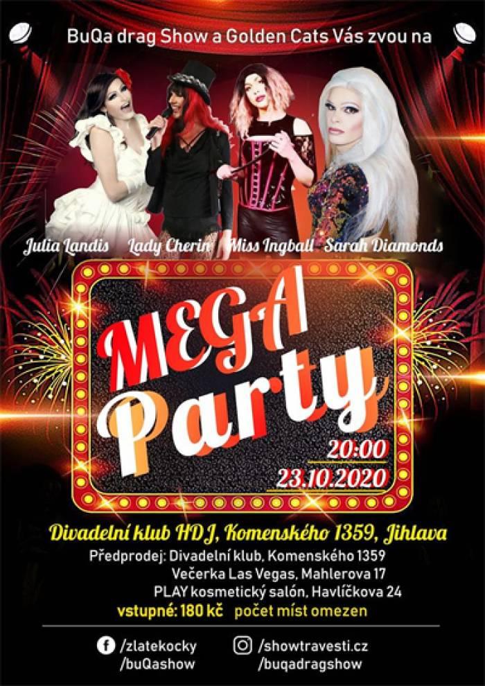 23.10.2020 - MEGA PARTY - Jihlava