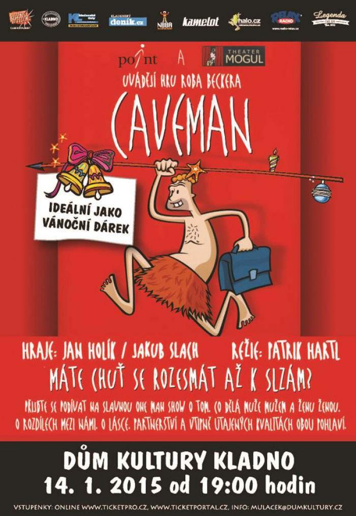 Caveman One Man Show : One man show caveman kladno