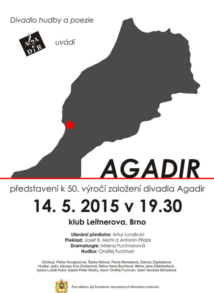 14.05.2015 - AGADIR  /  KONCERTNÍ MELODRAM - Brno