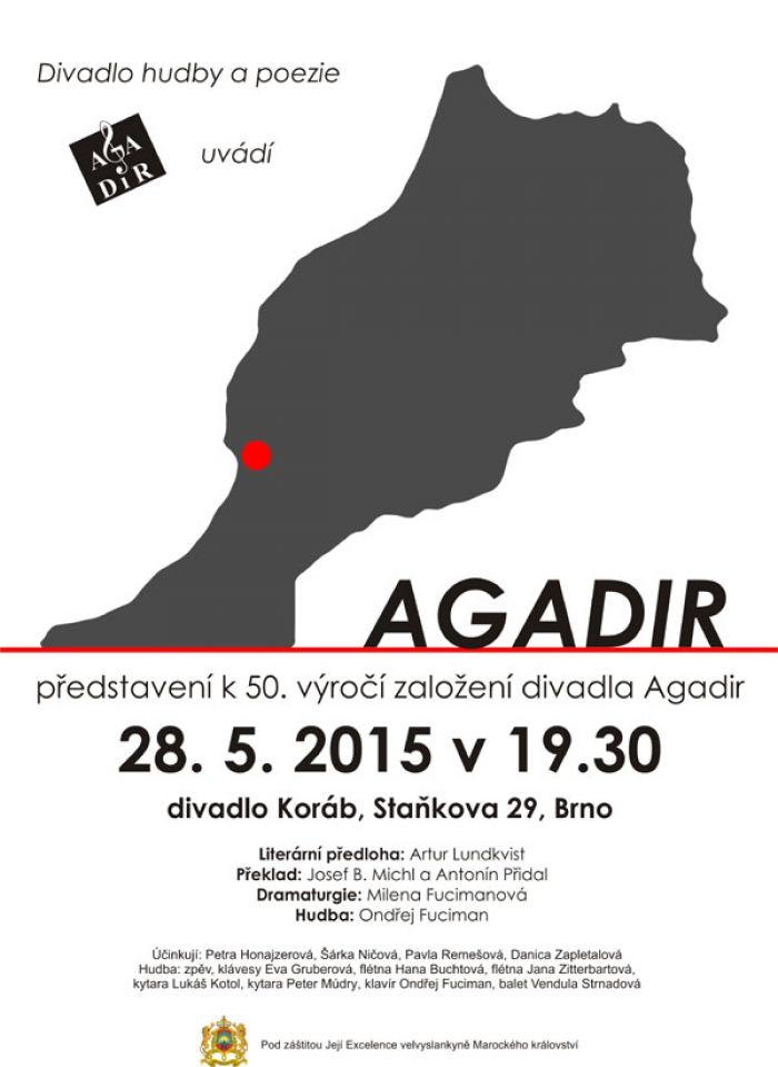 28.05.2015 - AGADIR, KONCERTNÍ MELODRAM - Brno