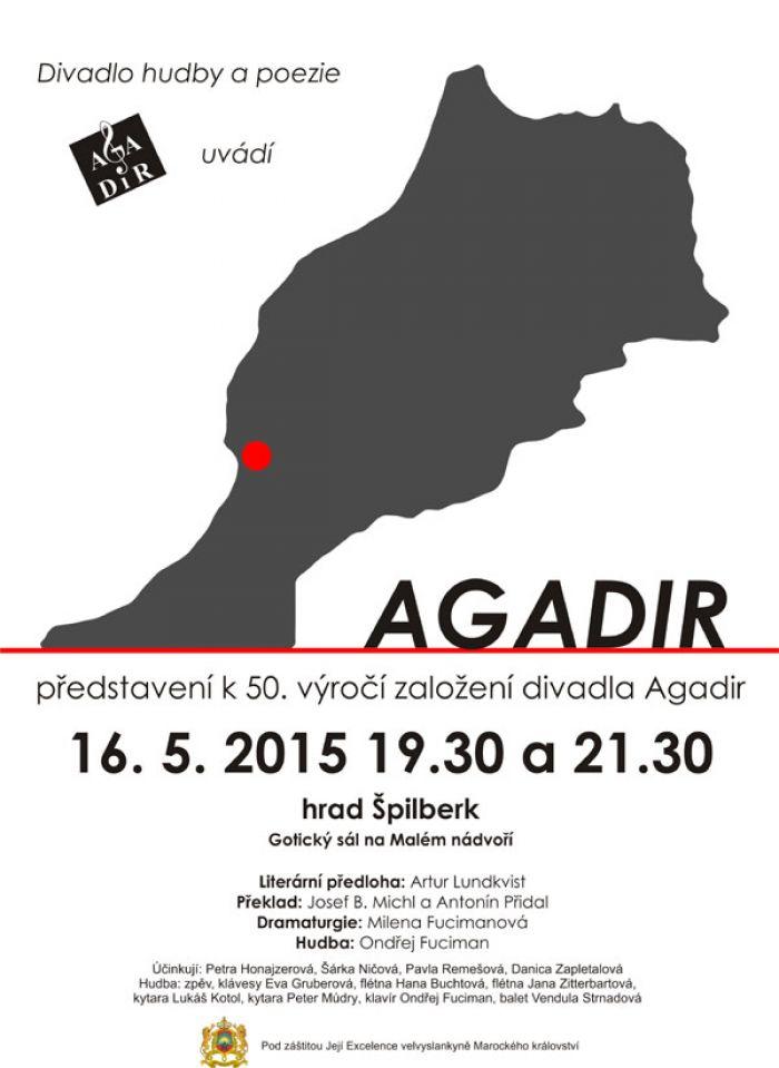 16.05.2015 - AGADIR, KONCERTNÍ MELODRAM - Brno