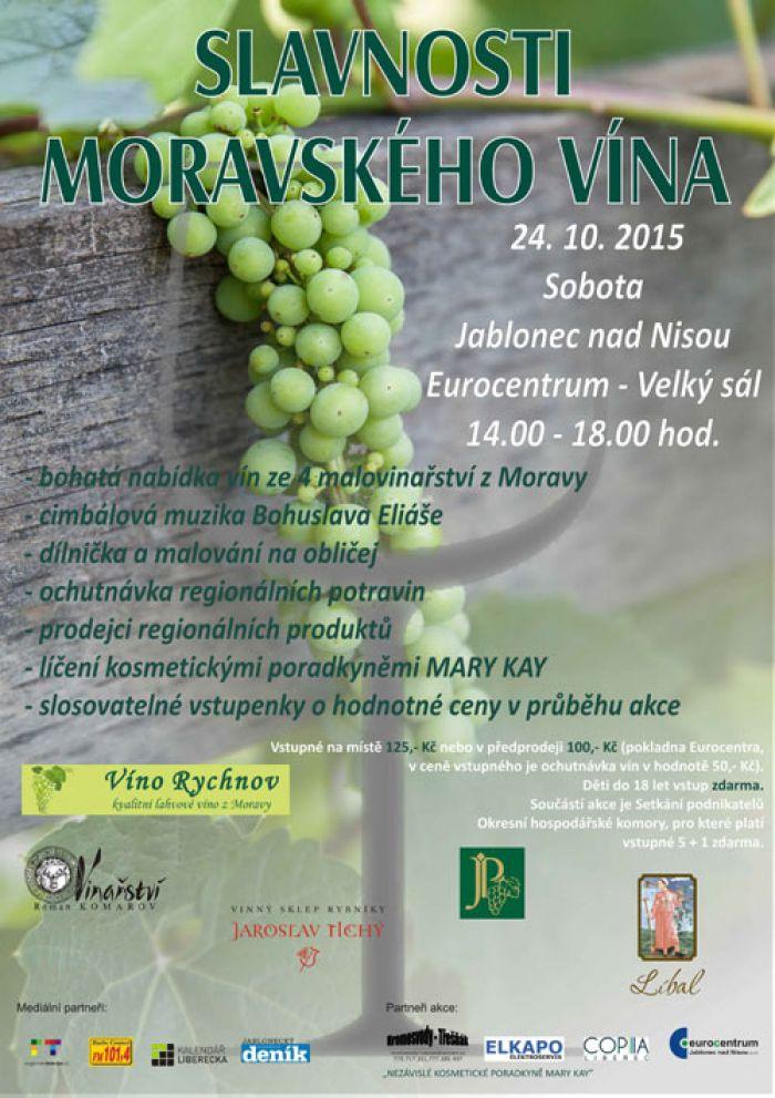 24.10.2015 - Slavnosti moravského vína v podání Víno Rychnov - Jablonec nad  Nisou 58716f3eb3