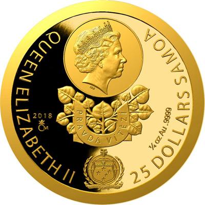 Počátek totalitního režimu v Československu na zlaté minci