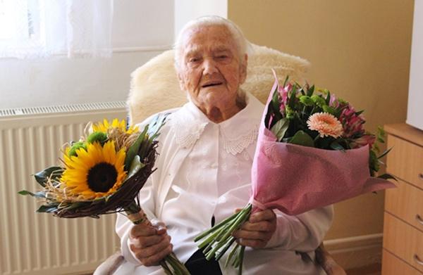 Hejtman popřál Marii Machové k 103. narozeninám