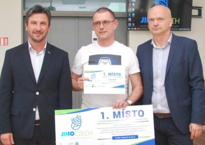 První místo v soutěži Jihoczech o nejlepší podnikatelský záměr získal Kubíčkův projekt