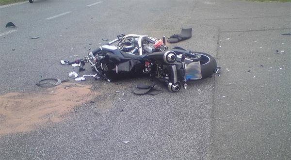 Hasiči zasahovali u nehod motocyklistů