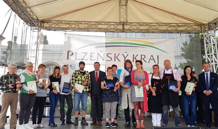 Předávání cen Regionální potravina na Festivalu Regionálních potravin kraje