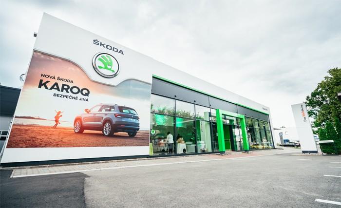 Otevření nového showroomu ŠKODA ve Svitavách