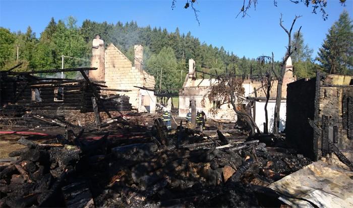 Požár Králováckého dvorce U Babků